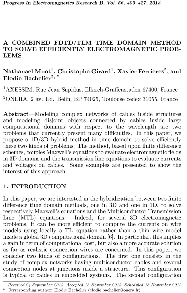 2013-article-PIER-nmuot-a_combined_fdtd_tlm_time_domain_method_to_solve_efficiently_electromagnetic_problems-1